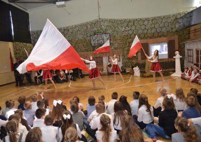 Akademia z okazji imienin szkoły i rocznicy bitwy pod Małogoszczem