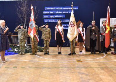 Akademia z okazji 157 rocznicy bitwy pod Małogoszczem